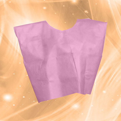 Picture of Disposable Pink Patient Capes/Gowns
